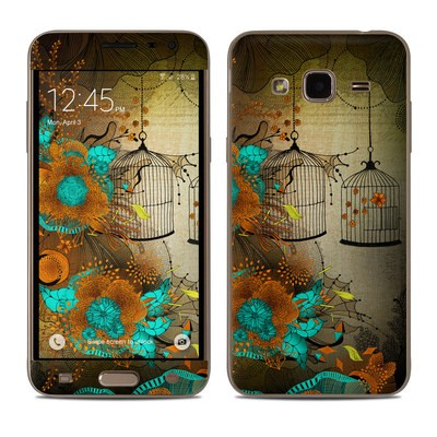 Samsung Galaxy J3 Skin - Rusty Lace