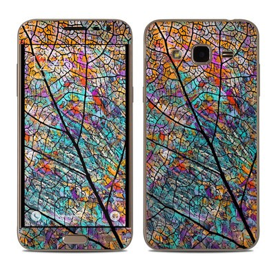 Samsung Galaxy J3 Skin - Stained Aspen