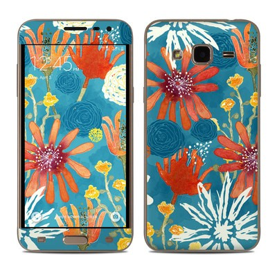 Samsung Galaxy J3 Skin - Sunbaked Blooms