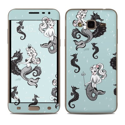 Samsung Galaxy J3 Skin - Vintage Mermaid