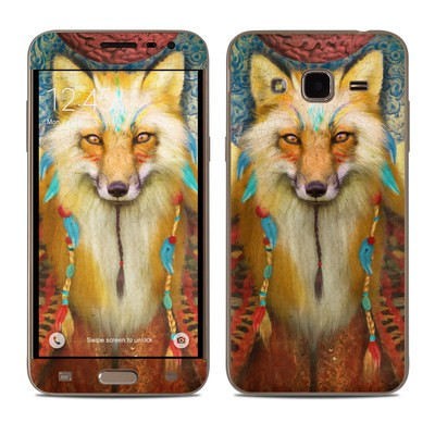 Samsung Galaxy J3 Skin - Wise Fox