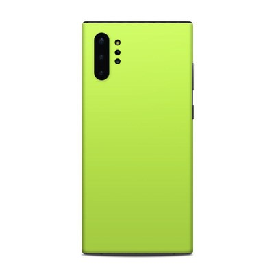 Samsung Galaxy Note 10 Plus Skin - Solid State Lime