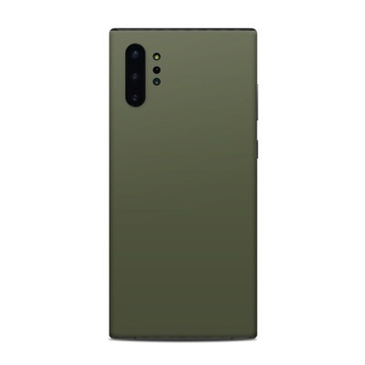 Samsung Galaxy Note 10 Plus Skin - Solid State Olive Drab
