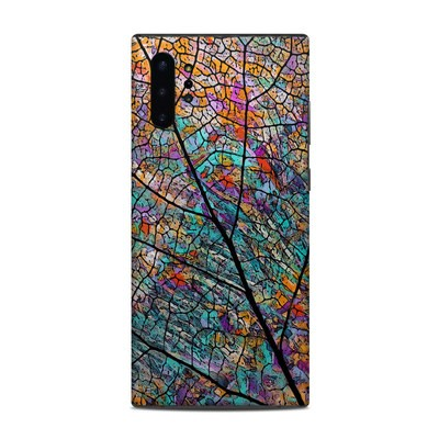 Samsung Galaxy Note 10 Plus Skin - Stained Aspen