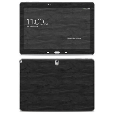 Samsung Galaxy Note 10.1 2014 Skin - Black Woodgrain