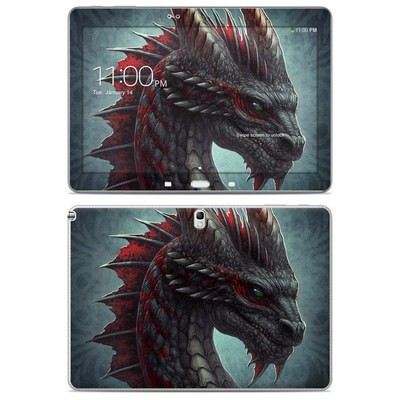 Samsung Galaxy Note 10.1 2014 Skin - Black Dragon