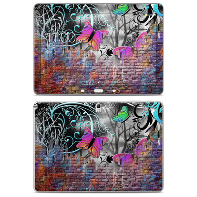 Samsung Galaxy Note 10.1 2014 Skin - Butterfly Wall