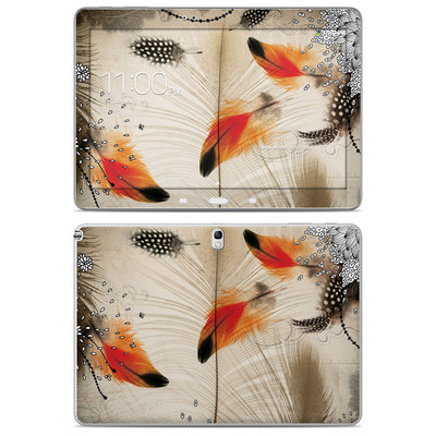Samsung Galaxy Note 10.1 2014 Skin - Feather Dance
