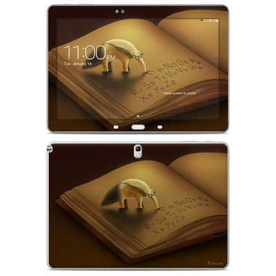 Samsung Galaxy Note 10.1 2014 Skin - Lettereater