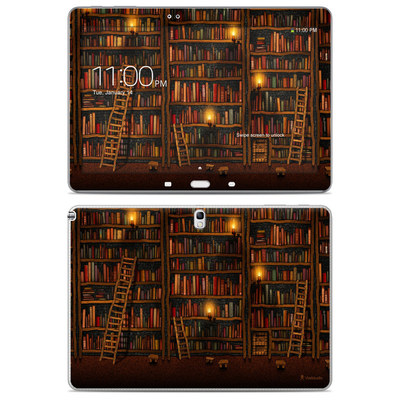 Samsung Galaxy Note 10.1 2014 Skin - Library
