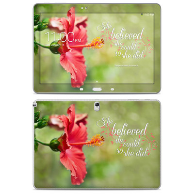 Samsung Galaxy Note 10.1 2014 Skin - She Believed