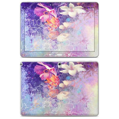 Samsung Galaxy Note 10.1 2014 Skin - Sketch Flowers Lily