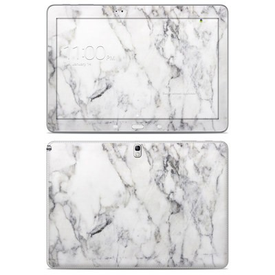Samsung Galaxy Note 10.1 2014 Skin - White Marble