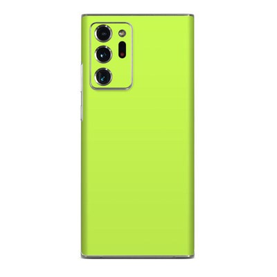 Samsung Galaxy Note 20 Ultra Skin - Solid State Lime