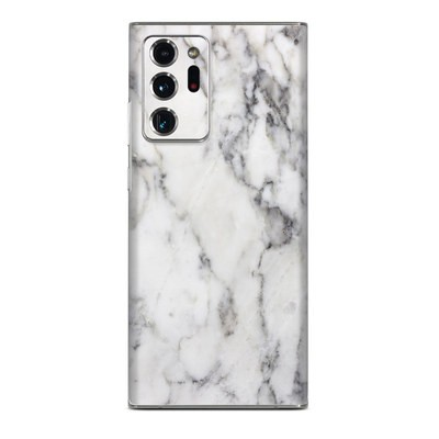 Samsung Galaxy Note 20 Ultra Skin - White Marble
