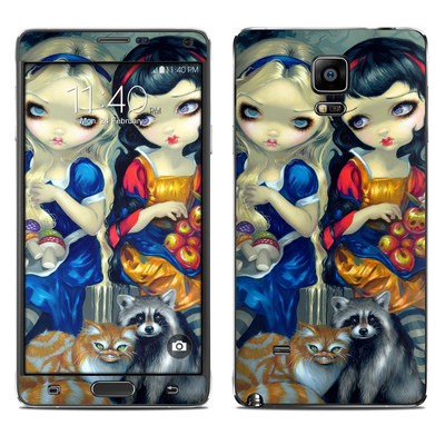 Samsung Galaxy Note 4 Skin - Alice & Snow White