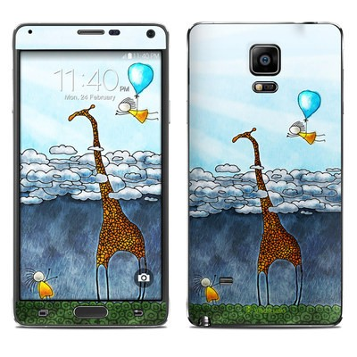 Samsung Galaxy Note 4 Skin - Above The Clouds