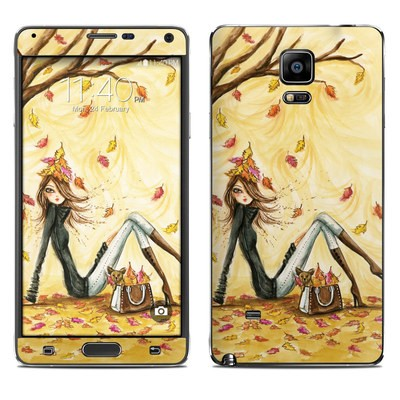 Samsung Galaxy Note 4 Skin - Autumn Leaves
