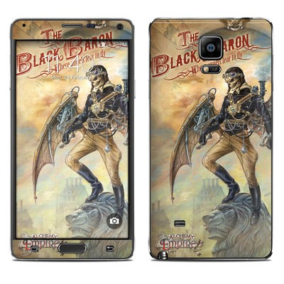 Samsung Galaxy Note 4 Skin - The Black Baron