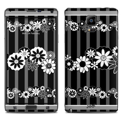 Samsung Galaxy Note 4 Skin - Black Retro