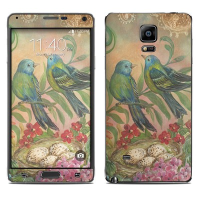 Samsung Galaxy Note 4 Skin - Splendid Botanical