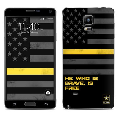 Samsung Galaxy Note 4 Skin - Brave is Free