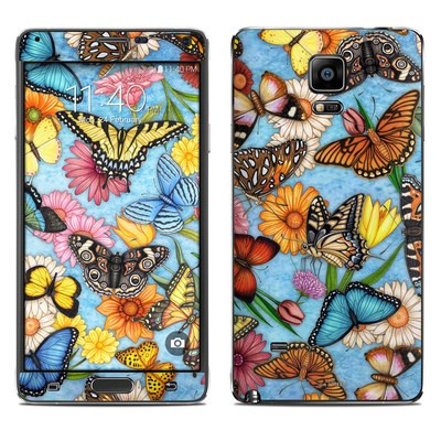 Samsung Galaxy Note 4 Skin - Butterfly Land