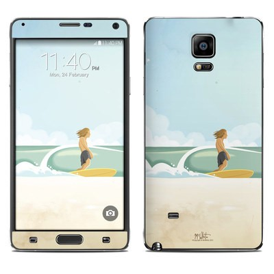 Samsung Galaxy Note 4 Skin - Casual Friday