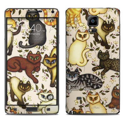 Samsung Galaxy Note 4 Skin - Cats