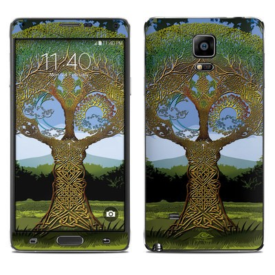 Samsung Galaxy Note 4 Skin - Celtic Tree