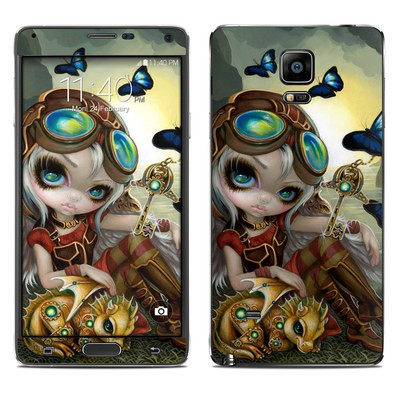 Samsung Galaxy Note 4 Skin - Clockwork Dragonling