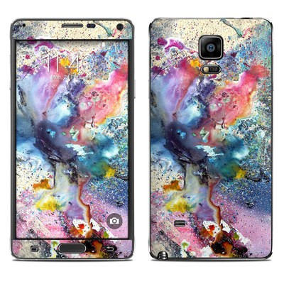 Samsung Galaxy Note 4 Skin - Cosmic Flower