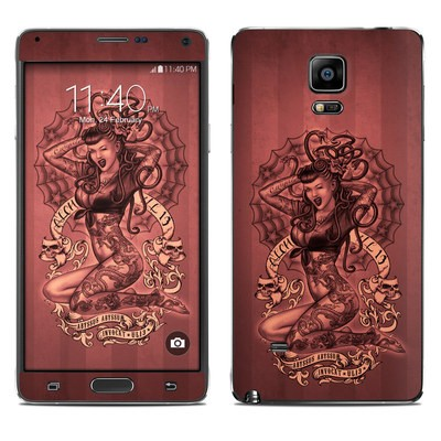 Samsung Galaxy Note 4 Skin - If Looks Could Kill
