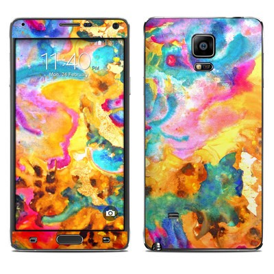 Samsung Galaxy Note 4 Skin - Dawn Dance