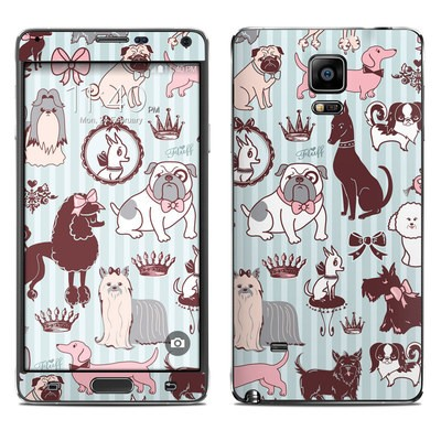 Samsung Galaxy Note 4 Skin - Doggy Boudoir