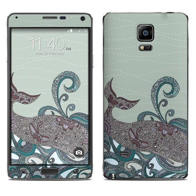 Samsung Galaxy Note 4 Skin - Deep Blue Me