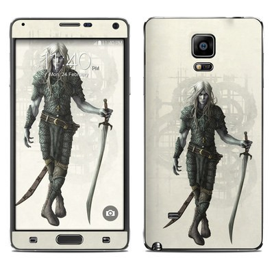 Samsung Galaxy Note 4 Skin - Dark Elf