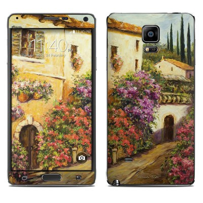 Samsung Galaxy Note 4 Skin - Via Del Fiori