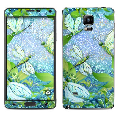 Samsung Galaxy Note 4 Skin - Dragonfly Fantasy