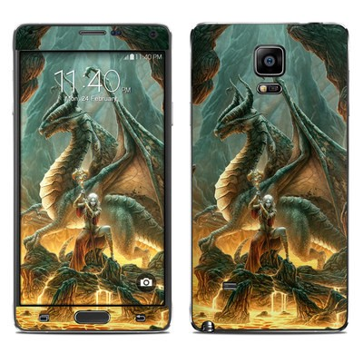 Samsung Galaxy Note 4 Skin - Dragon Mage