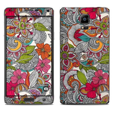 Samsung Galaxy Note 4 Skin - Doodles Color