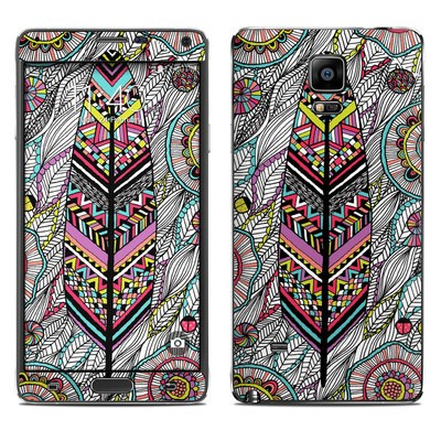 Samsung Galaxy Note 4 Skin - Dream Feather