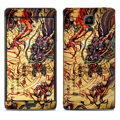 Samsung Galaxy Note 4 Skin - Dragon Legend