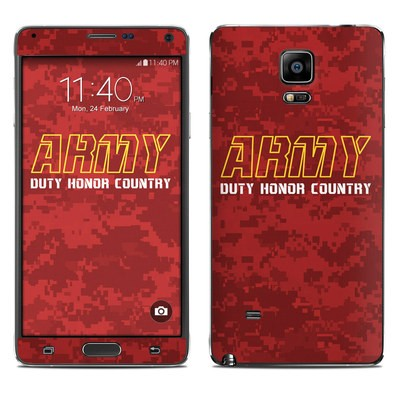Samsung Galaxy Note 4 Skin - Duty and Honor