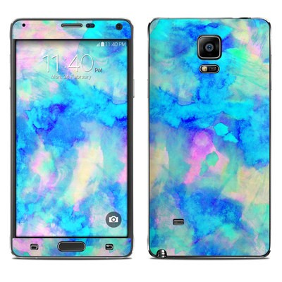 Samsung Galaxy Note 4 Skin - Electrify Ice Blue