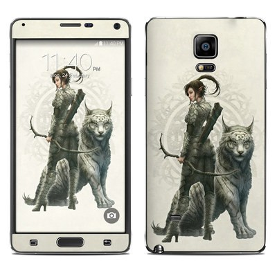 Samsung Galaxy Note 4 Skin - Half Elf Girl