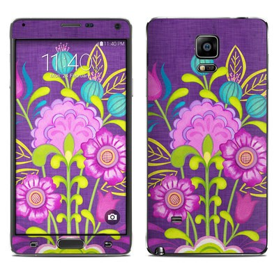 Samsung Galaxy Note 4 Skin - Floral Bouquet