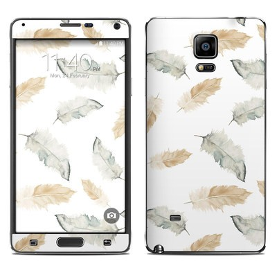 Samsung Galaxy Note 4 Skin - Feathers