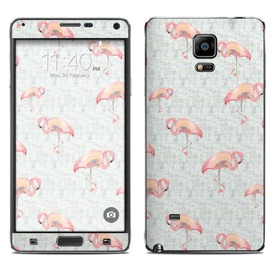 Samsung Galaxy Note 4 Skin - Flamingo Mosaic