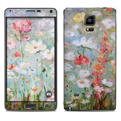 Samsung Galaxy Note 4 Skin - Flower Blooms